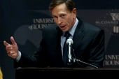 Questions surround Petraeus' resignation
