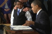Obama delays heath care component; GOP...