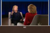 Hillary talks 2016 plans with Barbara Walters