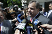 Christie approval takes hit in new poll