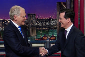 'He's a great choice': Colbert headed to CBS