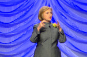Hillary comes out swinging on guns, Obamacare