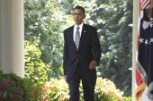 Obama in Rose Garden; GOP heads to Fla.