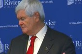 Newt calls committee failure 'good for...