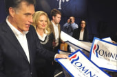 Romney continues to deflect first volley...