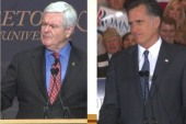 Gingrich and Romney have private meeting:...
