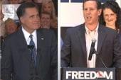 Santorum hits hard with new ad; Ann Romney...