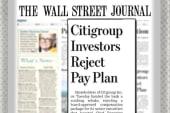 Scarborough on Citigroup vote: Citigroup...