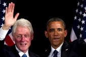 Clinton joins Obama in NYC, wants him to...