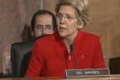 Elizabeth Warren takes on bank regulators...