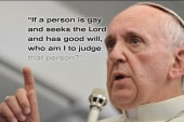 Pope Francis and the 'remarkable new face'...