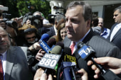 Christie 'basically' admits he's running...