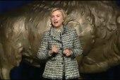 Hillary heckled; Maryland AG apologizes