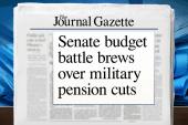 Joe: Military pension cuts are 'obscene'