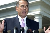 A rare case where Boehner showed leadership?