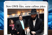 NJ rabbi mocked in latest round of GWB texts