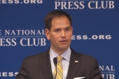 Rubio 'kind of' clarifies climate remarks