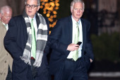 Good vibrations: GOP senators meet for...