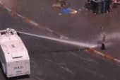 Istanbul police use tear gas, water...