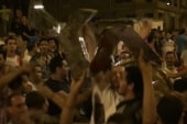 Demonstrators seek change with massive...