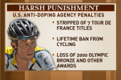 Haas: Armstrong made a 'non-admission,...