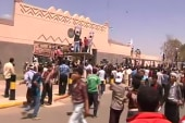 Protests continue outside US Embassy in Cairo