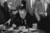 Tense meeting on Civil Rights Act part of...