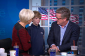 When a 9-year-old drops by Morning Joe