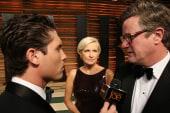 Joe and Mika at the Vanity Fair Oscars party