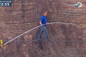 Grand Canyon daredevil: 'I knew it was...
