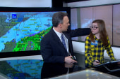 Bill Karins gets some help with the weather