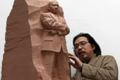 MLK memorial statue draws criticism