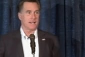 Romney trying to recover from auto bailout...