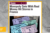 Monopoly sets in France contain real money