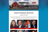 Republican stars flock to Iowa Freedom Summit