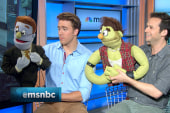 'Avenue Q' puppets share their #msnbcpride