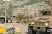 Israeli military vehicle attacked on border