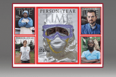 Ebola fighters Time's person of the year