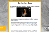 Argentinian journalist flees to Israel