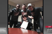 'Sports Matters Moment' Flyers sign 11-yr...