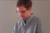 Snowden gives first in-person interview in...