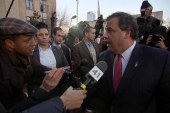 Christie's apology tour through Fort Lee