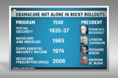 Obamacare not alone in rocky rollouts