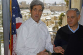 Kerry pressing for Mideast peace framework