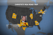 Christie hits the road
