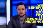 Who benefits from the Benghazi hearings?