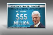 Bill Clinton breaks silence on wealth