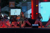 Sunidhi Chauhan performs at Global Citizen...