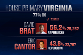 Cantor loses seat to tea party challenger