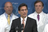 Cantor: fund NIH, let shutdown continue